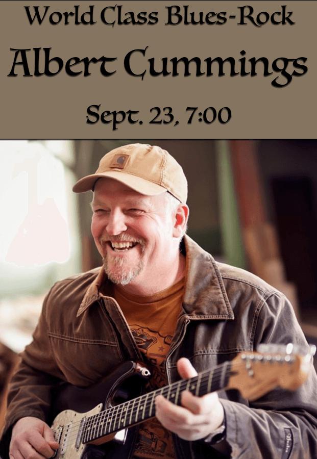 """Got Albert Cummings? You'd Better """"Believe"""" It! — September 23, 2021 at 7pm — #LiveAtTheLyric!"""