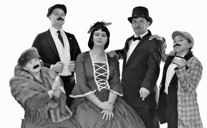 "Rollicking Slapstick ""Around the World in 80 Days"" — June 15–18 — #LiveAtTheLyric!"