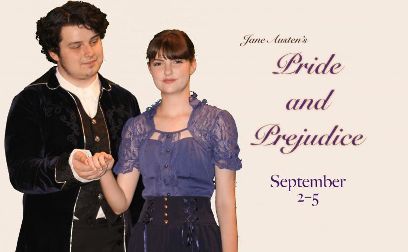 Pride and Prejudice, September 2–4 at 7pm, 5 at 2pm! #LiveAtTheLyric!